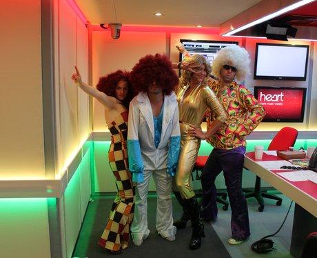 The Heart Breakfast Team - 70s Style!