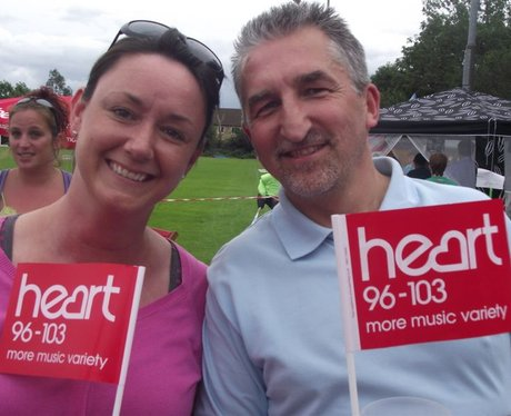 Heart at Cheddar Family Fun Day
