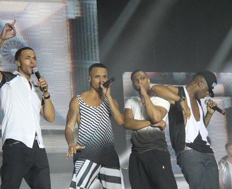JLS in Ipswich 2012