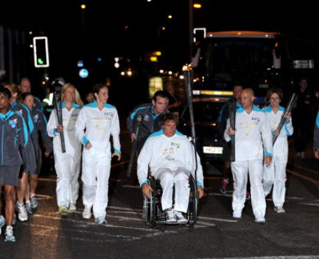 Paralympic Torch Relay 37