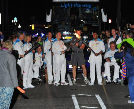 Paralympic Torch Team 15