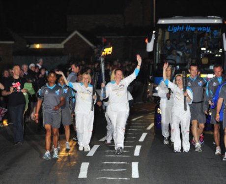 Paralympic Torch Team 16