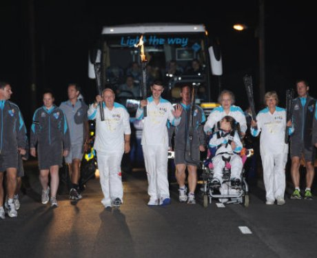 Paralympic Torch Team 18