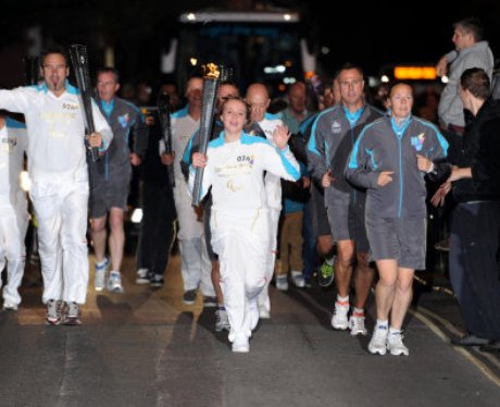 Paralympic Torch Team 26