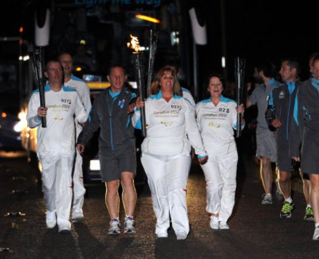 Paralympic Torch Team 27
