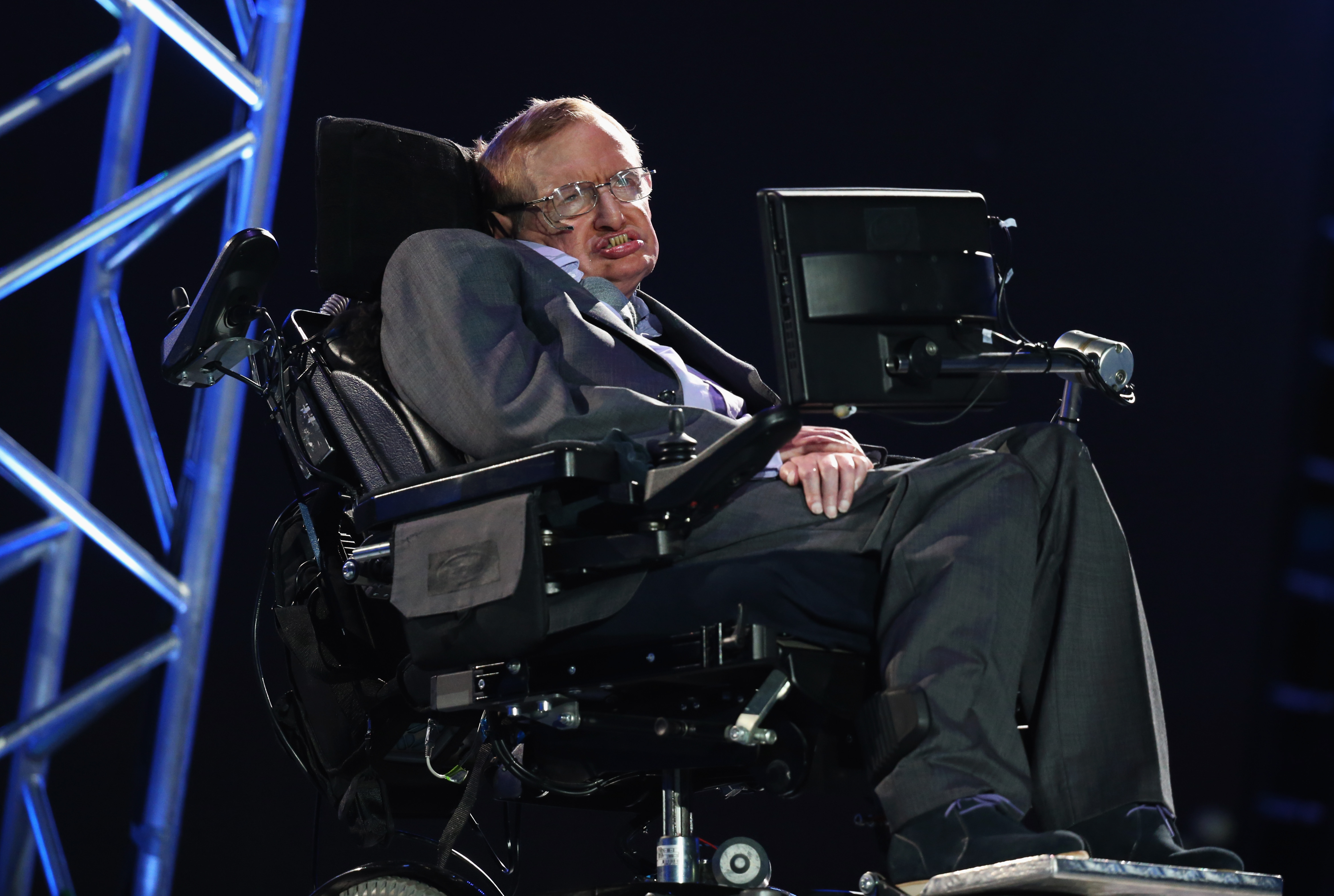 The 2012 Paralympics Opening Ceremony, Stephen Haw