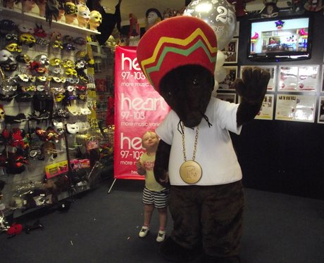 Rastamouse at Fun 'n' Frolic