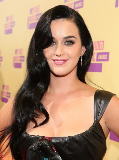 Katy Perry arrives at the MTV VMA 2012 awards