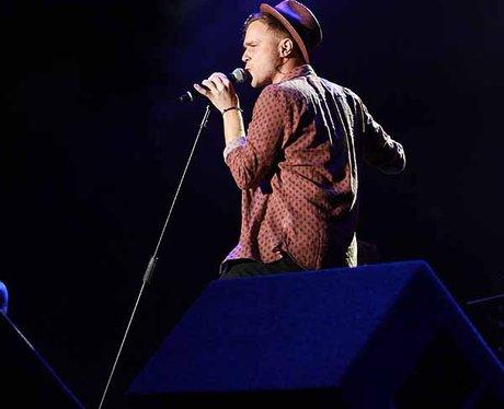 Olly Murs at the Sundown Festival