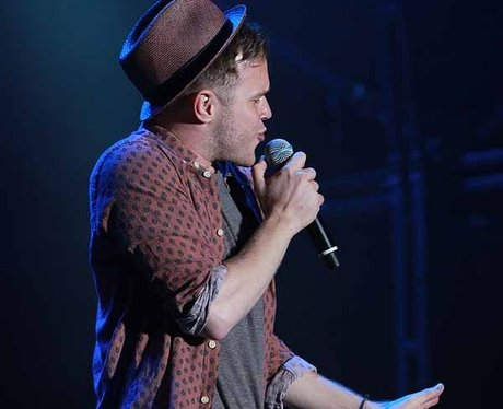 Olly Murs at the Sundown Festival