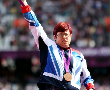 Paralympian Beverley Jones