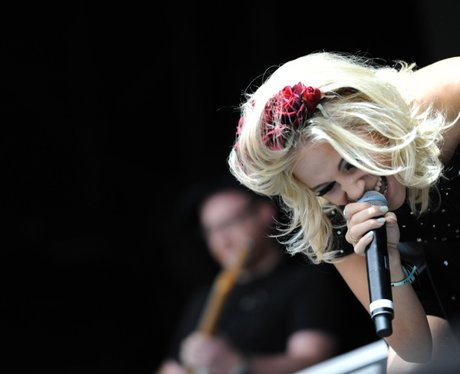 Pixie Lott on stage