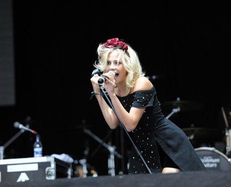 Pixie Lott on stage