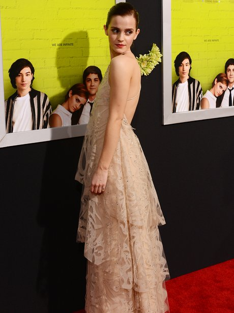 Emma Watson The Perks of Being A Wallflower' premiere