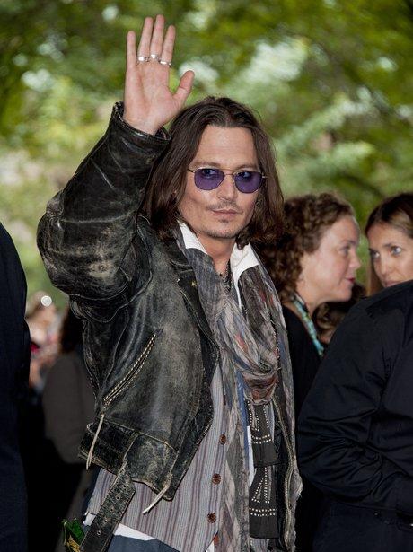 Johnny Depp at the Toronto Film Festival 2012
