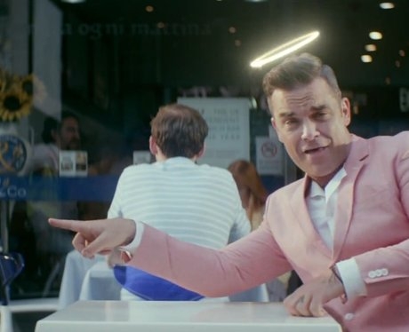 Robbie Williams Candy video stills