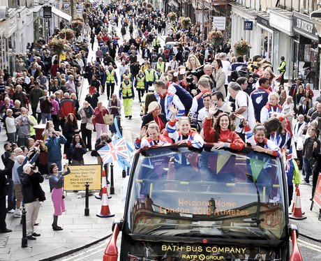 Team GB Bath Parade