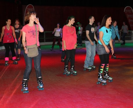 The Hexagon Roller Disco