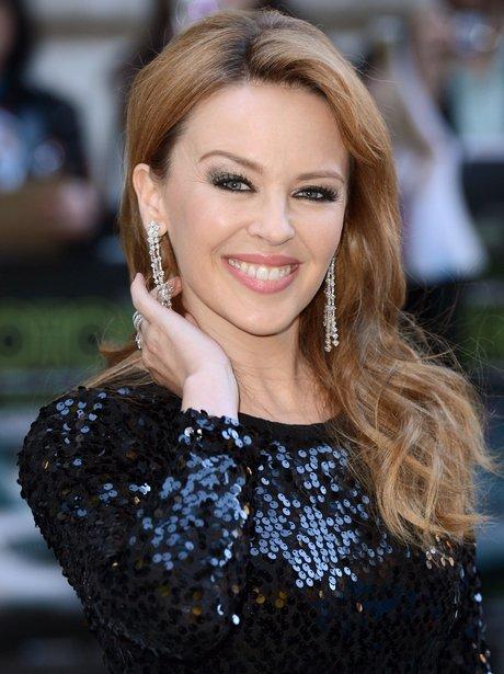 Kylie Minogue at UK Holy Motors premiere