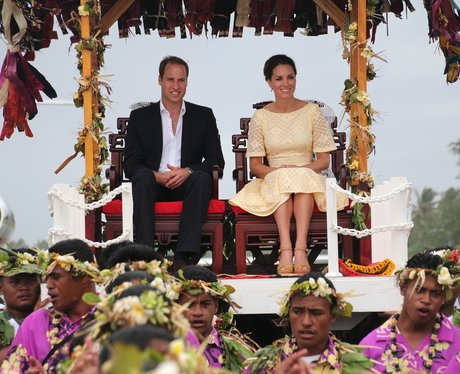 The Duke and Duchess of Cambridge in the Solomon Islands