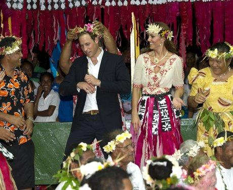 The Duke and Duchess of Cambridge Dance in the Solomon Islands