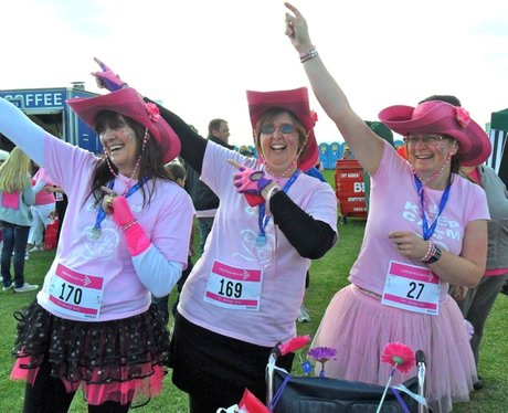 Stevenage Race for Life - Lovely Ladies
