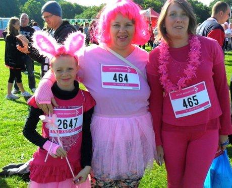 Stevenage Race for Life - Lovely Ladies