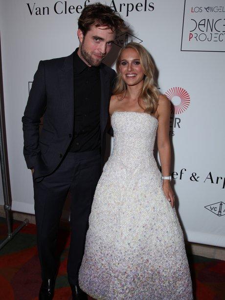 Robert Pattinson and Natalie Portman