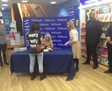 Tulisa Book Signing