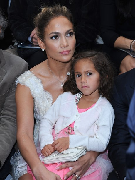 Jennifer Lopez With Her Daughter