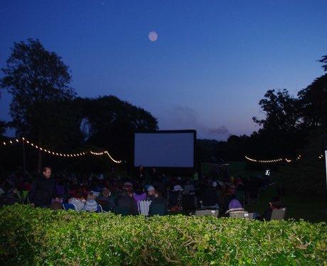 Warwick Castle Lunar Cinema Back to the Future