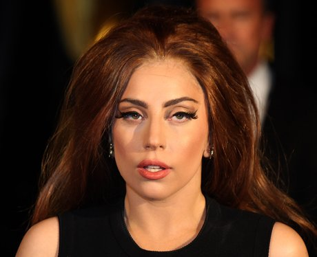 Lady Gaga attends her perfume launch in London