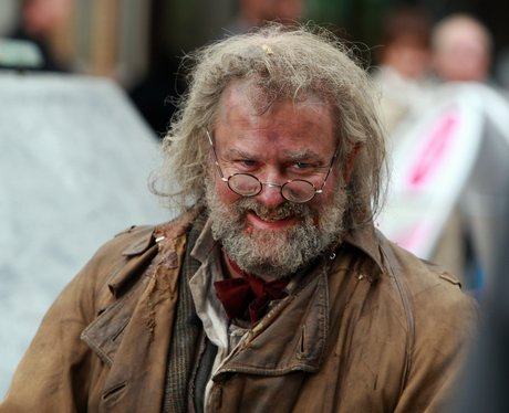 Mr Stink filming