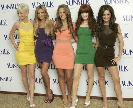 Girls Aloud at the Sunsilk launch