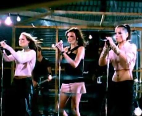 Girls Aloud 'Sound Of The Underground' music video still