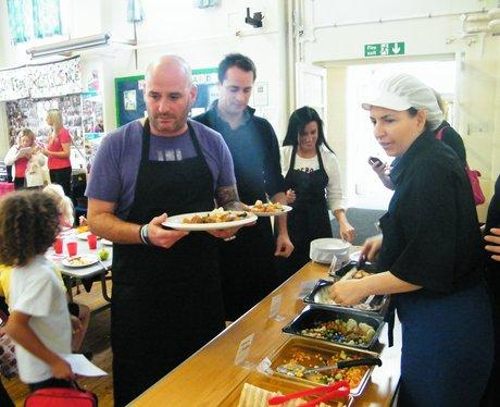 SCHOOL DINNERS TOUR SHOREHAM