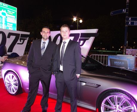 James Bond Skyfall Premier Cineworld