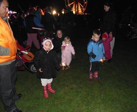 Bicester Fireworks 2012