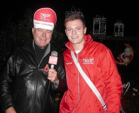 Dave Edwards Christmas Light Switch On