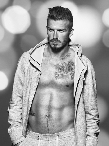 David Beckham in H&M bodywear