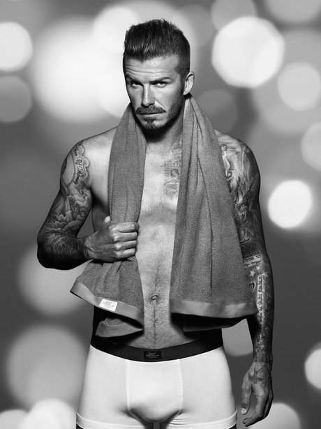 David Beckham in his pants