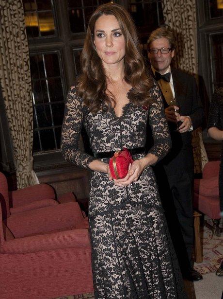 Kate Middleton at St Andrews University's 600th birthday
