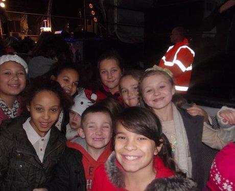 The Mall Christmas Lights with JLS