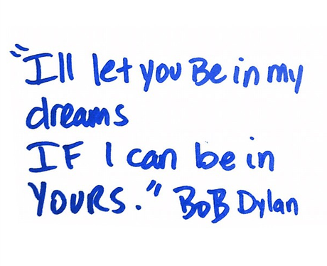 Beyonce quotes Bob Dylan