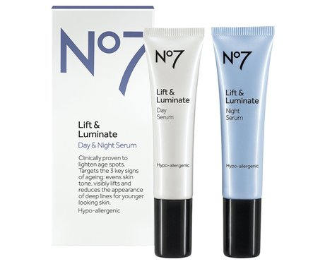 No 7 Lift & Luminate Day and Night Serum