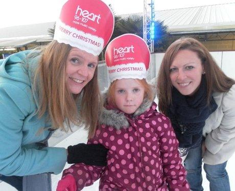 Cadbury & Heart Ice Party
