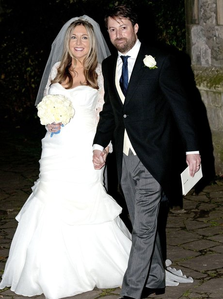 David Mitchell and Victoria Cohen wedding picture