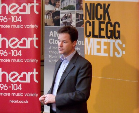 Nick Clegg meets St Albans