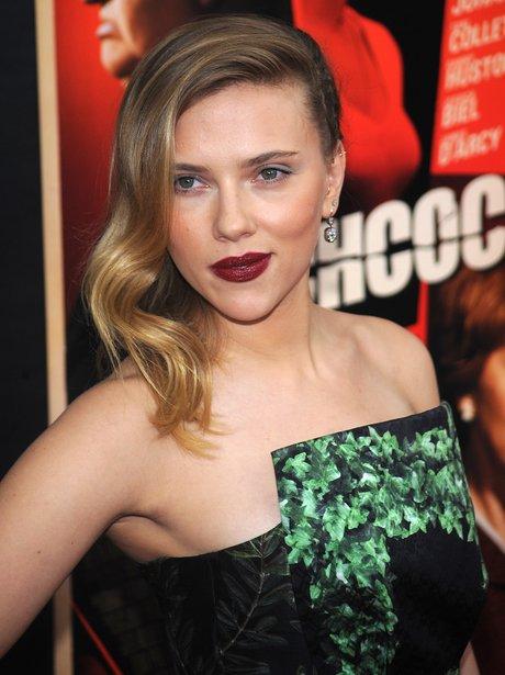 Scarlett Johansson at the Hitchcock premiere in Ne