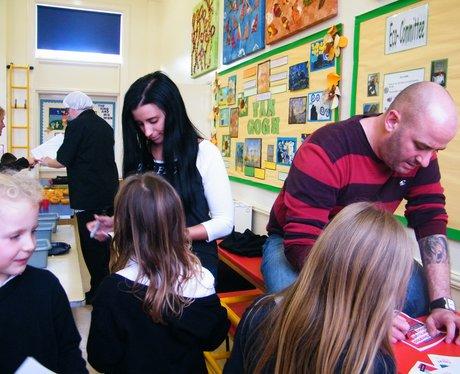 School Dinner Tour - Lyndhurst First School